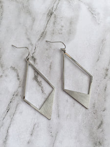 """Two of Diamonds"" Earrings"