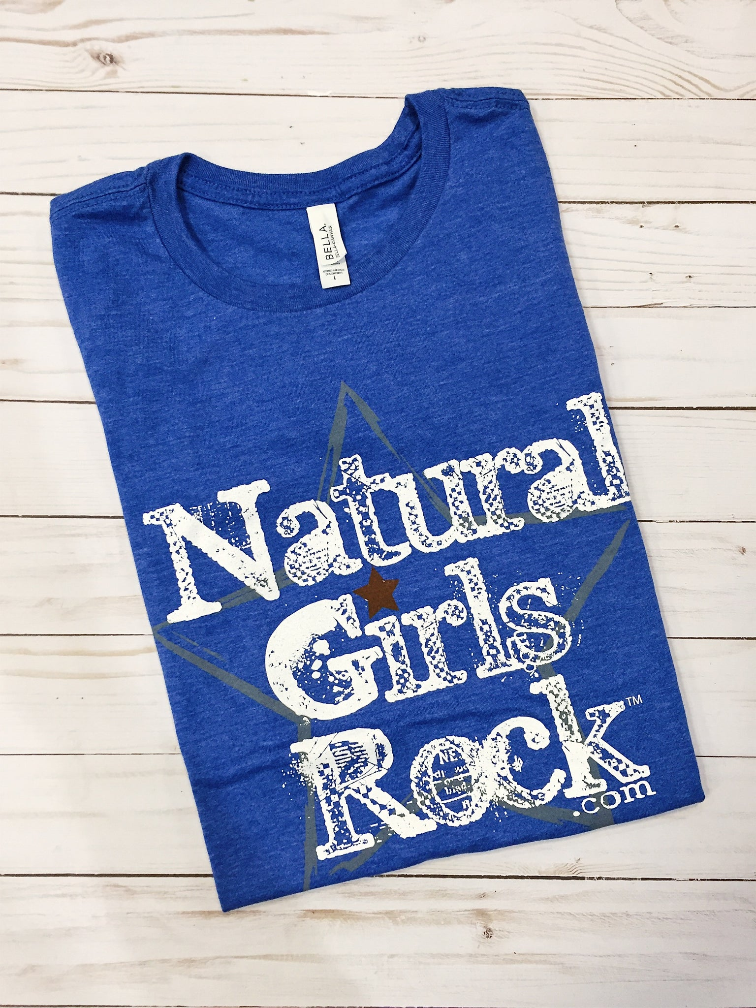 "Natural Girls Rock - ""WHITE LABEL""- Sapphire Blue"