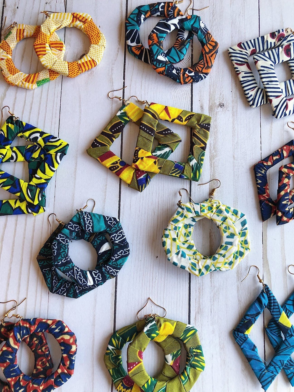 Bundle Box (SET OF 5 AFRICAN PRINT ACCESSORIES)