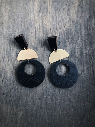 """Power On"" Earrings"