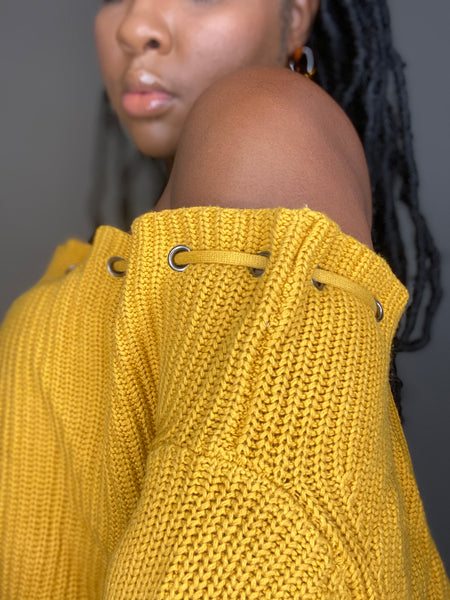 """Uptown Chic"" Chunky Sweater"