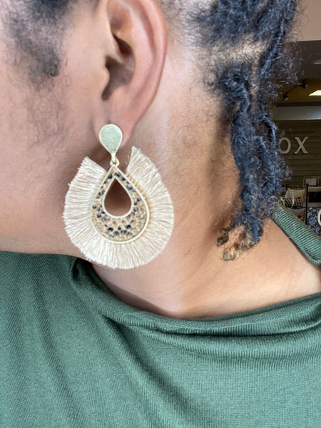 """Chic Fringe"" Earrings"