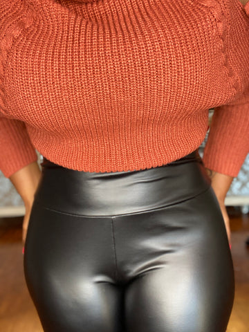 My Favorite Faux Leather Leggings (2ND EDITION)
