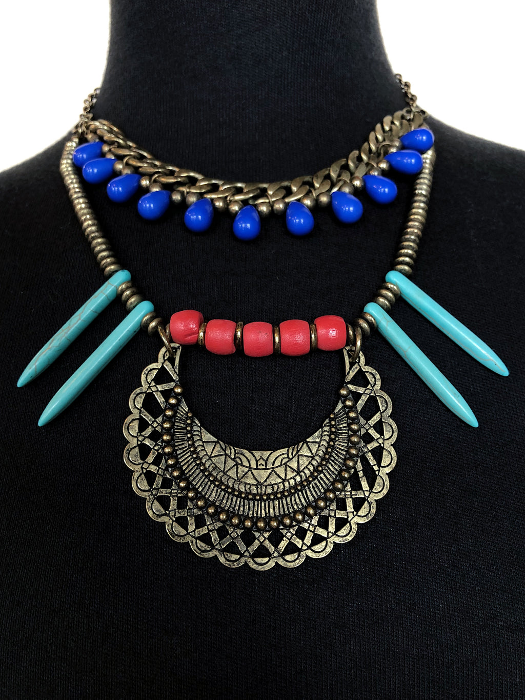 """Warrior Princess"" Layered Necklace"