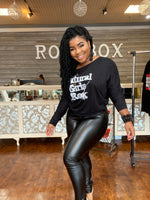 """My Favorite"" Faux Leather Leggings"