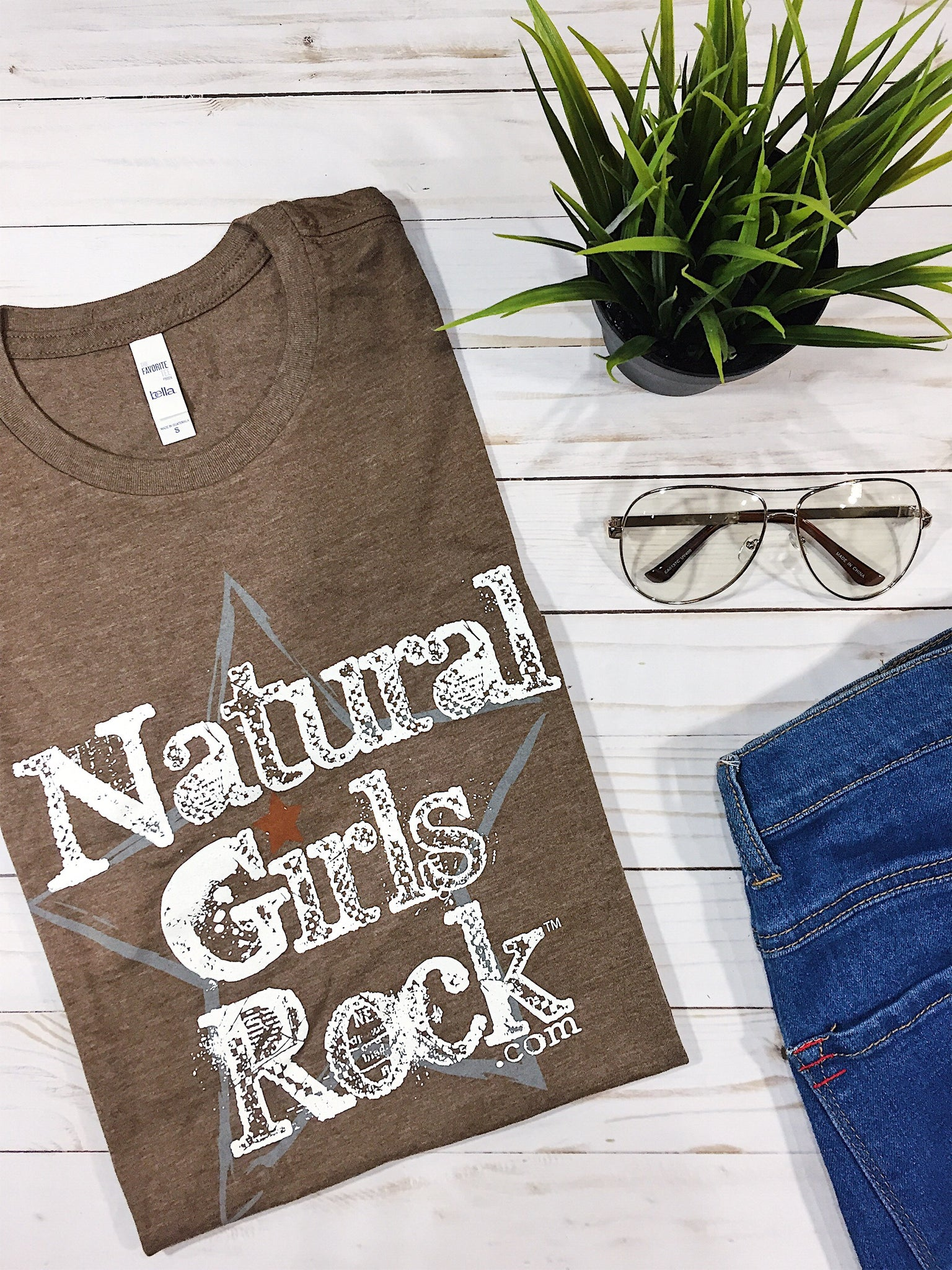 "Natural Girls Rock - ""WHITE LABEL"" - Mocha"