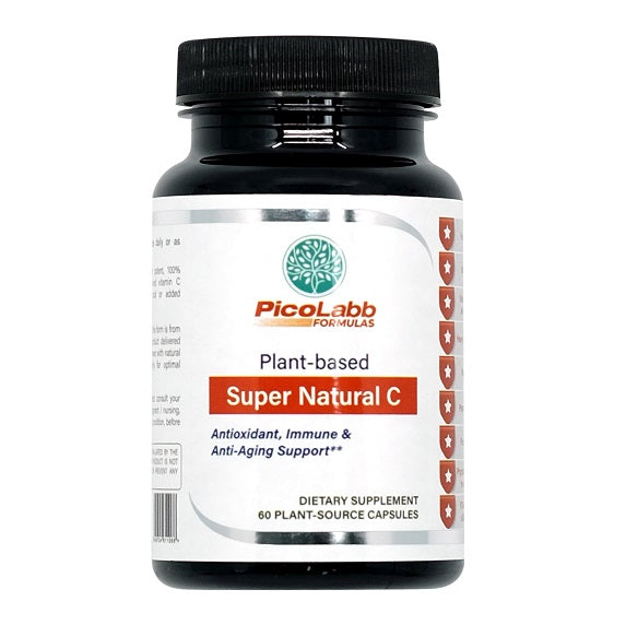 Super Natural C | Plant-based Vitamin C - PicoLabb