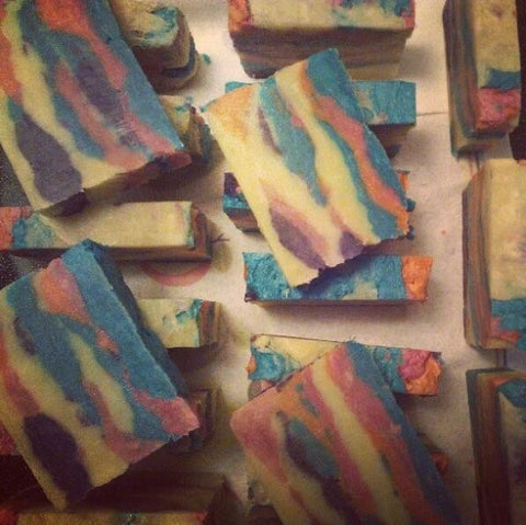 Trippy Hippie Soap