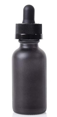 Massage Oil - 2 oz. in Black Dropper Bottle