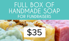 Full Box of Handmade Soap