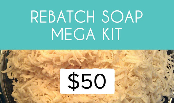 Rebatch Soap MEGA Kit