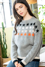 Load image into Gallery viewer, Star Sweater