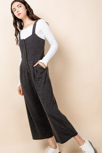 Button-Up Jumpsuit