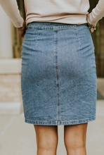 Load image into Gallery viewer, Rene Denim Skirt