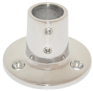 Rail Fitting 90 Degree Round Base - 22mm