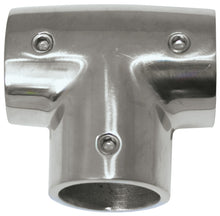 Rail Fittings - Stainless 90 Degree Tee 22MM - bosunsboat