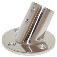 Rail Fitting - 60 Degree Round Base 22mm