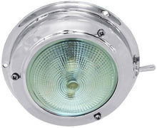 Stainless Steel Dome Lights - Standard Bulb Small - bosunsboat