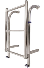 HIGH QUALITY STAINLESS LADDERS - 4 RUNG YACHT LADDERS - bosunsboat