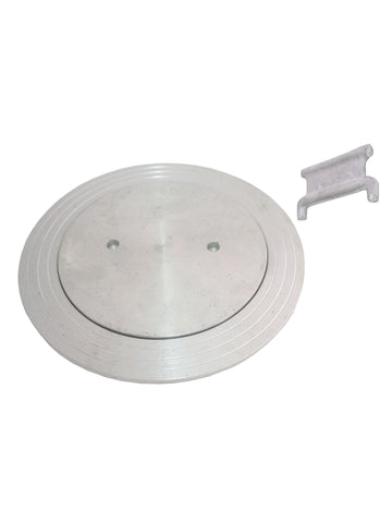 Deck Plate - Aluminium - 208mm