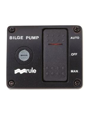 BILGE PUMP CONTROL PANELS - ROCKER SWITCH 3 WAY CONTROL