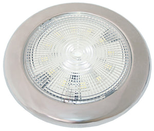 LED Interior Light - Slimline Stainless - bosunsboat