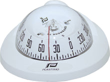 OFFSHORE 75 POWERBOAT COMPASS - FLUSH MOUNT, WHITE - bosunsboat