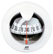 OFFSHORE 75 POWERBOAT COMPASS - DASH MOUNT, WHITE - bosunsboat