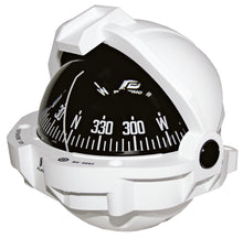 OFFSHORE 135 POWERBOAT COMPASS - FLUSH MOUNT, WHITE, CONICAL - bosunsboat