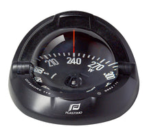 OFFSHORE 115 POWERBOAT COMPASS - FLUSH MOUNT, BLACK, FLAT - bosunsboat