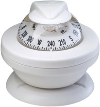 OFFSHORE 55 POWERBOAT COMPASS - WHITE - bosunsboat