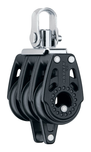 HARKEN 29mm TRIPLE BLOCK — SWIVEL, BECKET - bosunsboat