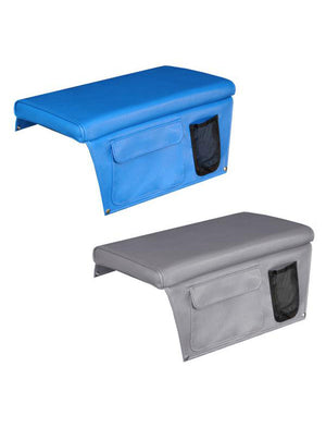 BOAT BENCH CUSHION WITH SIDE POCKETS - bosunsboat
