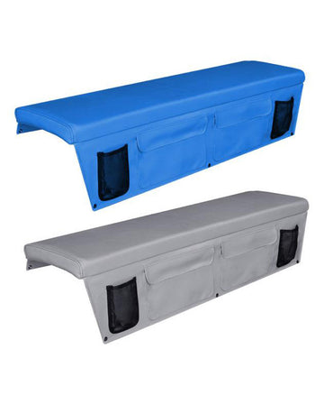 BOAT BENCH CUSHION WITH SIDE POCKETS