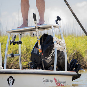 RAILBLAZA - QUIKGRIP PUSH POLE HOLDER - bosunsboat