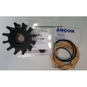 ANCOR IMPELLERS AN 2040 Replaces- Johnson 09-1027-B / Jabsco 1210-0001 - bosunsboat