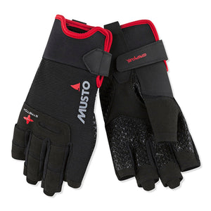 MUSTO - PERFORMANCE SHORT FINGER GLOVE - bosunsboat
