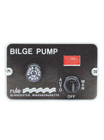 BILGE PUMP CONTROL PANELS - DELUXE 3 WAY SWITCH
