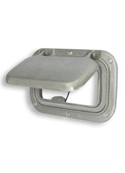 Scupper - Cast Alloy - Small - bosunsboat