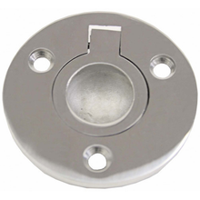 Round Flush Pull Ring - Stainless - bosunsboat