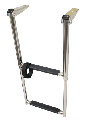 TELESCOPIC STAINLESS STEEL LADDERS - bosunsboat