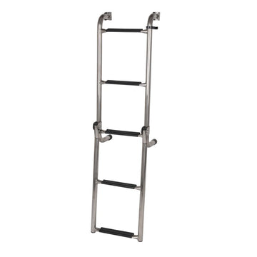 STAINLESS STEEL LONG BASE LADDER 5 STEP OCEANSOUTH