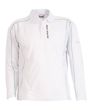 Evolution Sunblock Long Sleeved Polo - bosunsboat