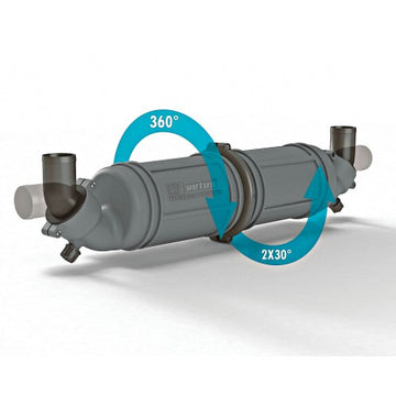 VETUS HORIZONTAL WATERLOCK/MUFFLER TYPE NLPH (Various Hose Sizes)