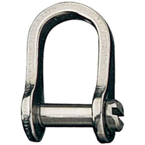 Shackle - Standard Slotted Pin 13mm Long - RF615A - bosunsboat