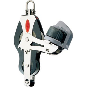 Ronstan Series 50 Block - Fiddle Block - Becket - Adjustable Cleat - Universal Head RF51530 - bosunsboat