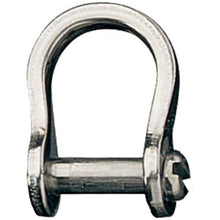 Shackle - Bow - Slotted Head - 9mm RF613S - bosunsboat