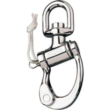 Trunnion Snap Shackle Small 150mm Swivel Ball RF6511