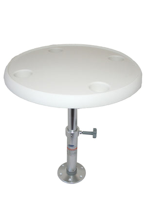 TABLE AND PEDESTAL SETS - ROUND