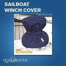 OCEANSOUTH SELF TAILING NAVY WINCH COVER - bosunsboat